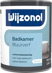 Wijzonol Badkamer Muurverf 2,5 liter